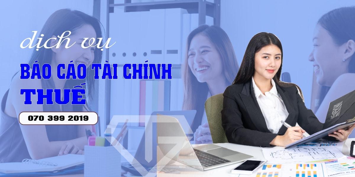 Dịch Vụ Báo Cáo Tài Chính Thuế Tốt Nhất Hiện Nay