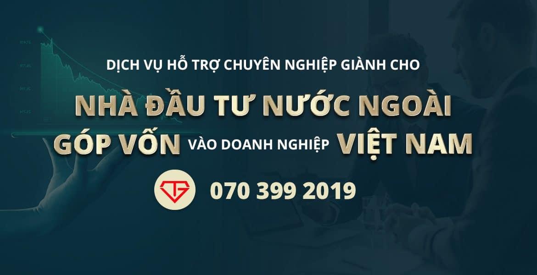 Nhà Đầu Tư Nước Ngoài Góp Vốn Vào Doanh Nghiệp Việt Nam