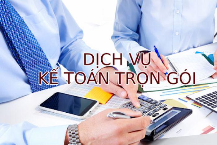 dịch vụ kế toán thuế trọn gói tphcm